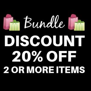 20% OFF ON 2+ ITEMS